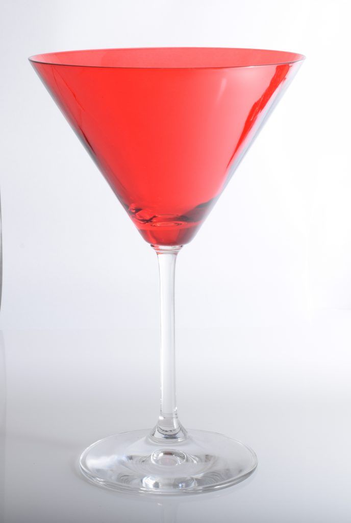 red cocktail glass, ecommerce Photogold